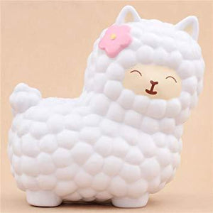 Alpaca Squishy White Squishies