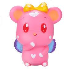 Angel Mouse Squishy Pink Squishies