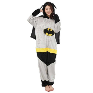 Onesie World Unisex Animal Pyjamas - Batman Adult (Cosplay / Nightwear Halloween Carnival Novelty