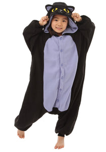 Onesie World Unisex Animal Kigurumi Pyjamas Cosplay Rainbow Spooky Black Cat Kid Nightwear Halloween