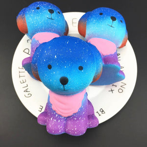 Rainbow Dog Squishy Squishies