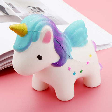 Blue Unicorn Squishy Squishies