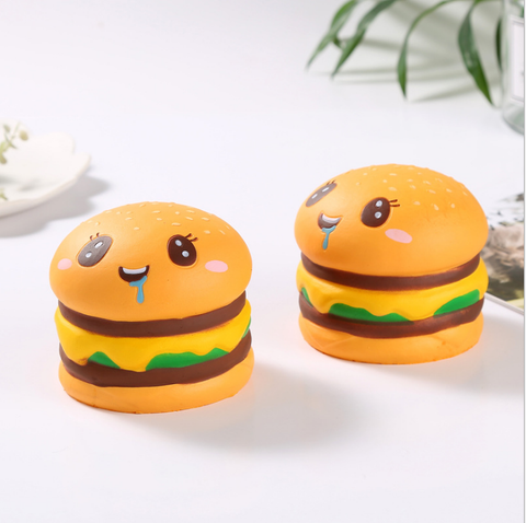 Burger Face Squishy Squishies