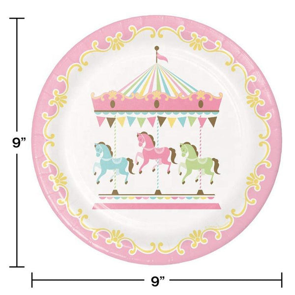 Carousel Theme Birthday Party Cutlery Package