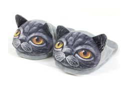 3D Cat Slippers Slippers