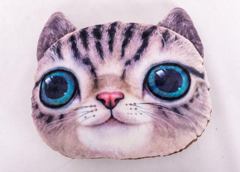 3D Cat Pillow Pillow