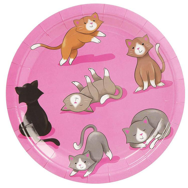 Cat Theme Birthday Party Cutlery Package