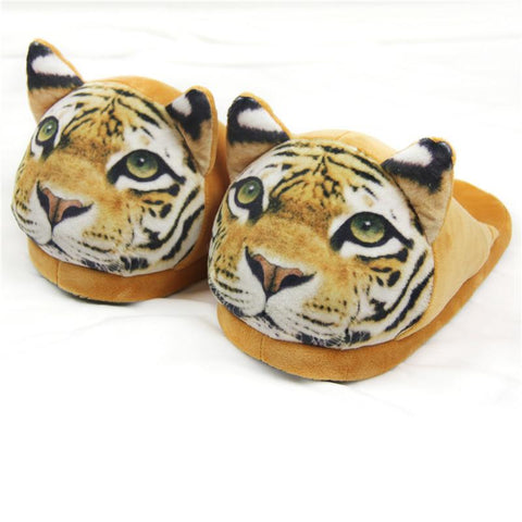 3D Panther Slippers Slippers