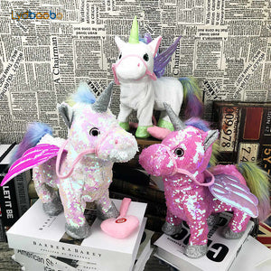 Magic Walking And Singing Unicorn Toys