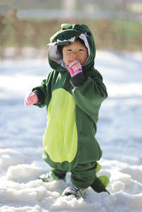 Onesie World Unisex Animal Pyjamas - Green Dinosaur Baby (Cosplay / Nightwear Halloween Carnival
