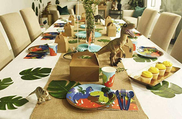 Dinosaur Theme Birthday Party Cutlery Package (#Type A)