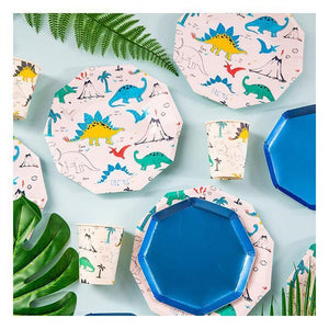 Dinosaur Theme Birthday Party Tableware Package (#Type D)