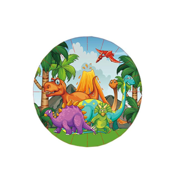 Dinosaur Theme Birthday Party Tableware Package (#Type C)