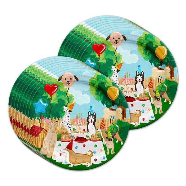 Puppy Theme Birthday Party Cutlery Package (#Type B)