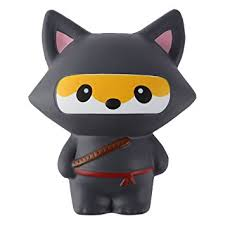Ninja Fox Squishy Squishies