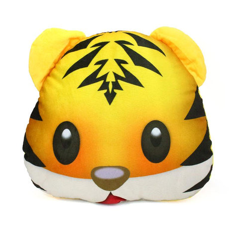 Emoji Tiger Pillow Pillow