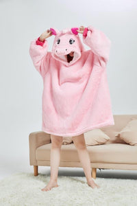 My Snuggy - Pink Unicorn Oversized Blanket Hoodie