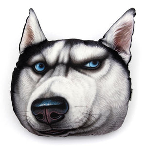 3D Husky Pillow Pillow