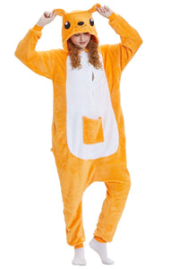 Onesie World Unisex Animal Pyjamas - Kangaroo Adult (Cosplay / Nightwear Halloween Carnival Novelty