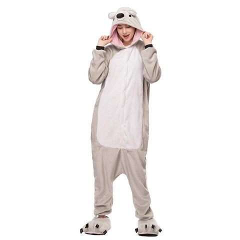 Onesie World Unisex Animal Pyjamas - Koala Adult (Cosplay / Nightwear Halloween Carnival Novelty