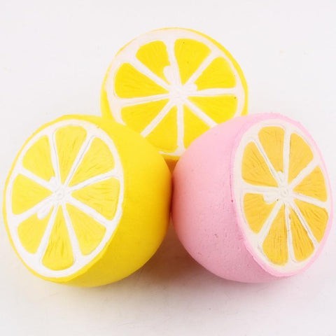 Half Lemon Squishy Squishies