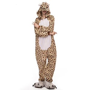 Onesie World Unisex Animal Pyjamas - Leopard Adult (Cosplay / Nightwear Halloween Carnival Novelty