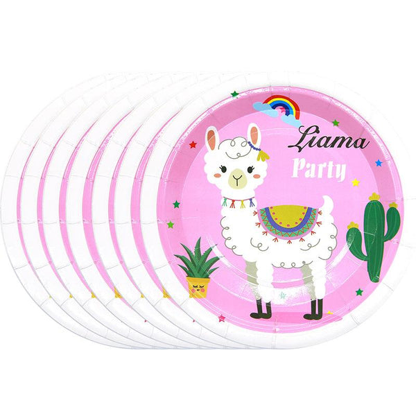 Llama Theme Birthday Party Cutlery Package (#Type C)