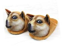 3D Dog Slippers Slippers
