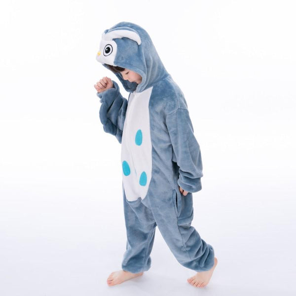 Onesie World Unisex Animal Pyjamas - Owl Kids (Cosplay / Nightwear Halloween Carnival Novelty