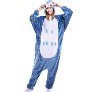 Onesie World Unisex Animal Pyjamas - Owl Adult (Cosplay / Nightwear Halloween Carnival Novelty