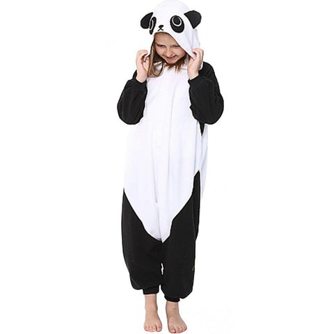 Onesie World Unisex Animal Pyjamas - Panda Kids (Cosplay / Nightwear Halloween Carnival Novelty