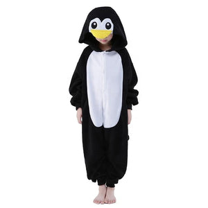 Onesie World Unisex Animal Pyjamas - Penguin Kids (Cosplay / Nightwear Halloween Carnival Novelty