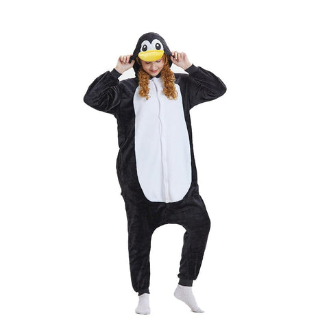 Onesie World Unisex Animal Pyjamas - Penguin Adult (Cosplay / Nightwear Halloween Carnival Novelty