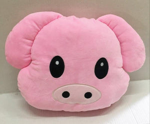 Emoji Pig Pillow Pillow