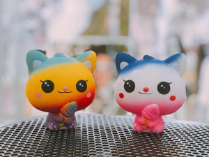 Rainbow Cat Squishy Squishies