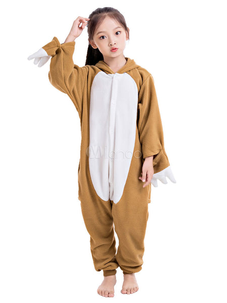 Onesie World Unisex Animal Pyjamas - Sloth Kids Onesie (Cosplay / Nightwear / Halloween / Carnival / Novelty Costume)