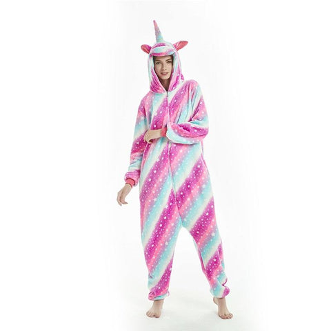 Onesie World Unisex Animal Pyjamas - Starry Sky Unicorn Adult (Cosplay / Nightwear Halloween