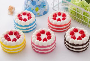 Strawberry Cake Squishy Squishies