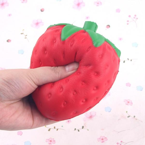 Strawberry Squishy Squishies