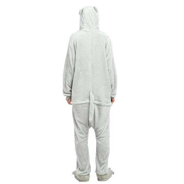 Onesie World Unisex Animal Pyjamas - Grey Totoro Adult (Cosplay / Nightwear Halloween Carnival
