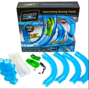 Speed Tube Racing Set - 28 Pieces Toys