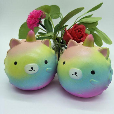 Rainbow Cat Unicorn Squishy Squishies