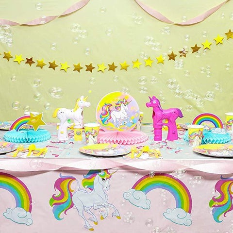 Unicorn Theme Birthday Party Cutlery Package (#Type A)