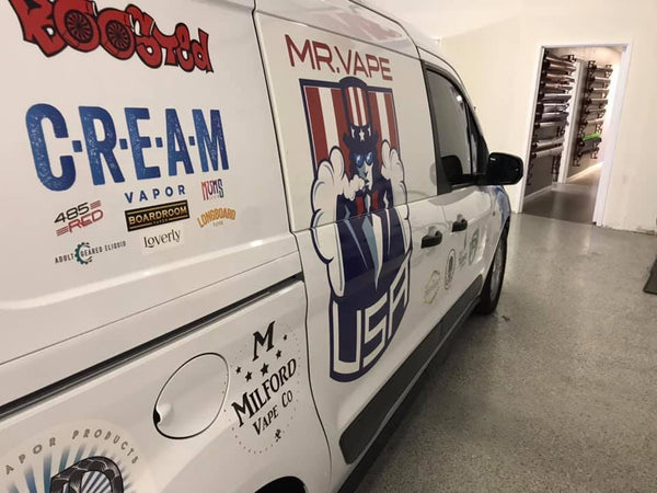 Mr. Vape USA Hits The Road!