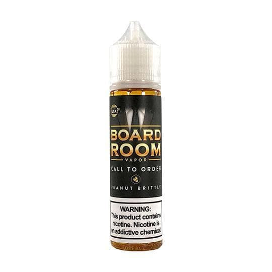 Call To Order (Peanut Brittle) - Boardroom - Mr. Vape USA Retail