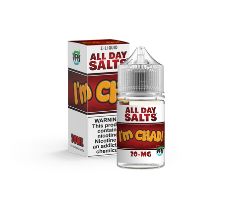 I'm Chad Nicotine Salts - VPN - Mr. Vape USA Retail