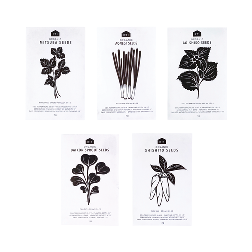 JAPANESE HERB SEEDS - PACK OF 5