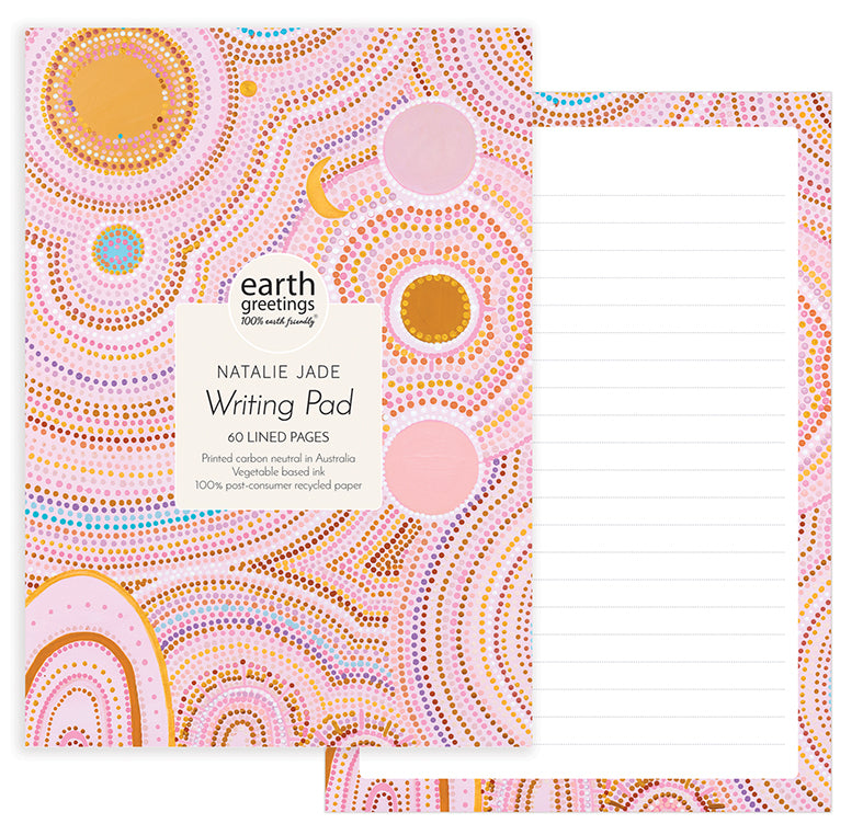 A5 Writing Pad Seven Sisters Dreaming III - Earth Greetings