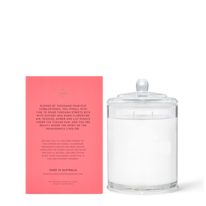 Forever Florence 380g Soy Candle - Glasshouse Fragrances