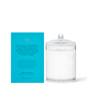 Melbourne Muse 380g Soy Candle - Glasshouse Fragrances